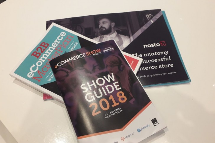 Brochures from Ecommerce Show North